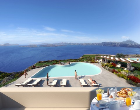 Furnished Apartments, Santorini
