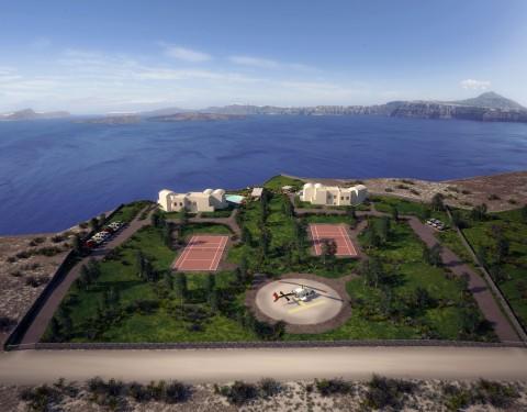 Furnished Apartments, Santorini