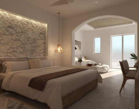 Hotel Renovation, Santorini